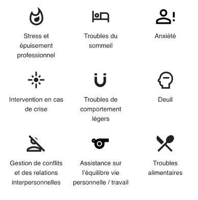 Images du compétiteurs en santé mentale