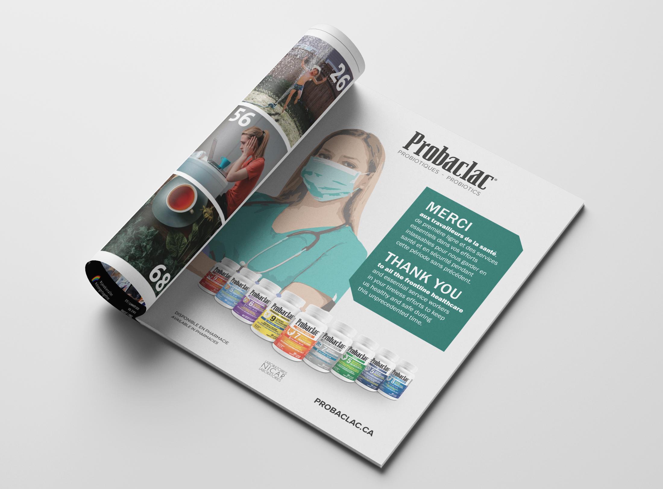"""Publicité pour le magazine """"Montréal en santé"""" - 2020-05"""